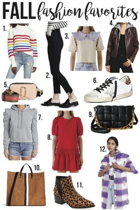 Fall Fashion Favorites❤️//  #LTKSeasonal #LTKunder100 #LTKSale