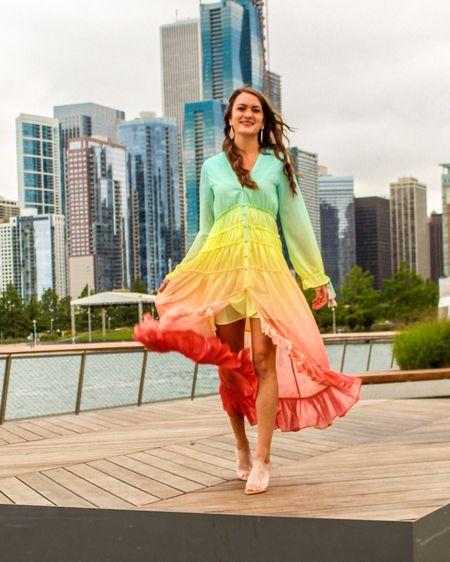 Rainbow dreamin' 🌈  http://liketk.it/2McUJ #liketkit @liketoknow.it #LTKspring #LTKunder100 #LTKstyletip