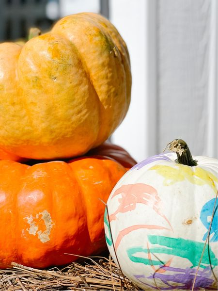 The best paint brush pens for painting pumpkins!  #LTKSeasonal #LTKfamily #LTKkids
