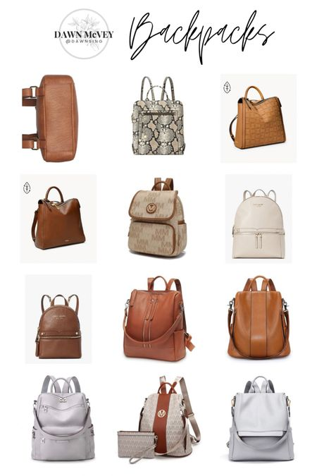 Purse-palooza handbag round-up! 😂 Linking up lots of cute bags just in time for Mother's Day gift-giving or wish-listing! Hope you find something to love! This is my backpack round-up! Lots of different color options on many of these bags so be sure to over to shop the bags to see any other color options available! #purses #handbags  #liketkit @liketoknow.it http://liketk.it/3dLsq  Shop my daily looks by following me on the LIKEtoKNOW.it shopping app