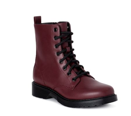 Fall boots ($19) lug boots, affordable boots, wide width boots, Walmart boots, Walmart fashion, Walmart finds   #LTKshoecrush #LTKunder50