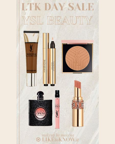 http://liketk.it/3hsEU #liketkit @liketoknow.it #LTKbeauty #LTKunder100 #LTKsalealert Save 25% off on YSL Beauty during this weekend's LTK DAY Sale.