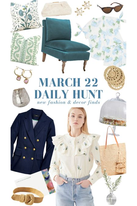 A handful of the many March 22 finds! Explore them all on the Daily Hunt page of KatieConsiders.com @liketoknow.it http://liketk.it/3b4HK #liketkit