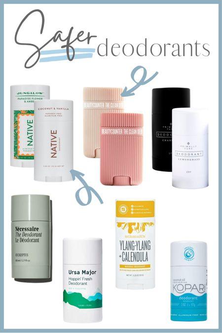 Roundup of Safer Deodorants http://liketk.it/3e85Y #liketkit @liketoknow.it #deodorants #cleanbeauty