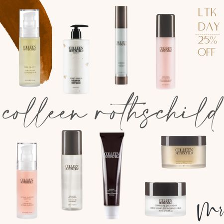 http://liketk.it/3hky2 #liketkit @liketoknow.it #LTKDay #LTKbeauty #LTKsalealert 25% off Colleen Rothschild #ltkday #colleenrothschild #beautydeals #colleenrothschildsale #summerskincare