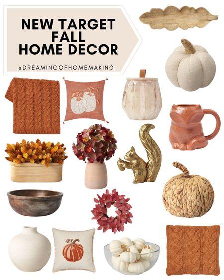New target fall decor!!  Dreaming of Homemaking | #DreamingofHomemaking   #liketkit #LTKunder50 #LTKhome #LTKunder100