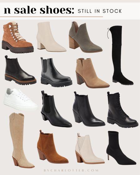 Nordstrom anniversary sale sneakers, booties, and boots that are still in stock!   #LTKshoecrush #LTKsalealert #LTKunder100