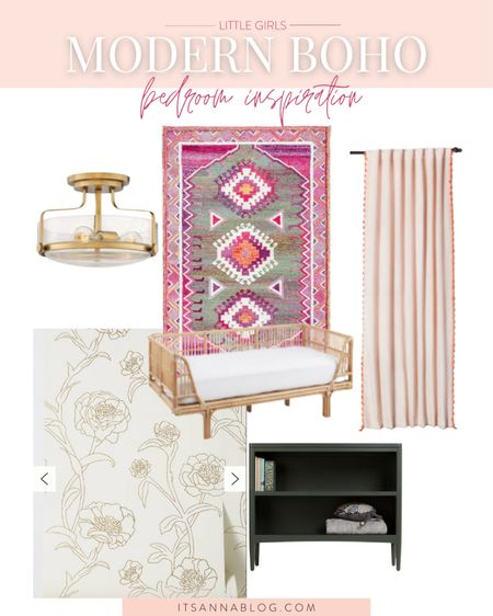 This would've been my dream room growing up! So chic, so eclectic. Can't wait to bring it to life for sister girl. 🤍    #LTKhome #LTKstyletip #LTKkids