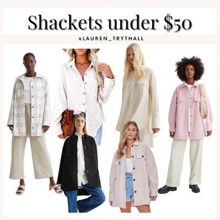 Shackets for fall under $50  #LTKSeasonal #LTKstyletip #LTKunder50