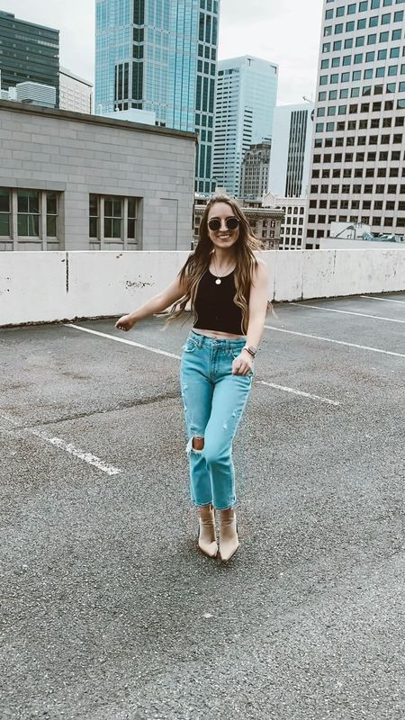 Late summer street style inspo 🤍🤍 can't go wrong with the basics!  #LTKstyletip #LTKunder100 #LTKSeasonal