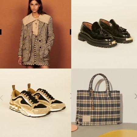 Some of my favorite pieces from Sandro's collection   #LTKSeasonal #LTKshoecrush #LTKstyletip