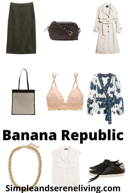 Transitional fall fashion finds from Banana Republic. #LTKfashion  #LTKSeasonal