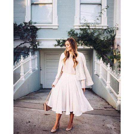 I don't follow trends, I just wear what I love www.liketk.it/25ibe #liketkit #ladylike #feminine #sanfrancisco #ootd #blush #chloegirls