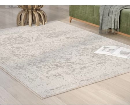 This beautiful and elegant rug is on sale for $17 and would be so worth it in a living area!   #LTKSeasonal #LTKunder50 #LTKsalealert