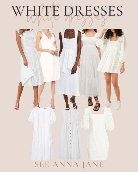 White dresses http://liketk.it/3gxyX #liketkit @liketoknow.it #LTKunder50 #LTKunder100