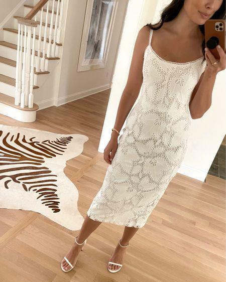 Bridal shower dress. http://liketk.it/3g0ej #liketkit @liketoknow.it #LTKwedding #bridal #eyelet #whitedress