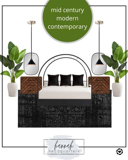 I'm obsessed with this canopy bed 😍 Mid Century Modern @liketoknow.it #liketkit http://liketk.it/3exbq #LTKhome #LTKstyletip @liketoknow.it.home Screenshot this pic to get shoppable product details with the LIKEtoKNOW.it shopping app Bedroom design
