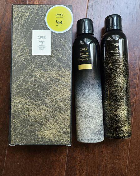 My fave hair brand Oribe! Magic Duo Full size Dry shampoo and Texturizing spray for $64 (original $96) #nsale #nordstrom #nordstromanniversarysale #oribe #dryshampoo #texturizingspray #haircare #haircareproducts http://liketk.it/3jYH2 @liketoknow.it #liketkit #LTKsalealert #LTKstyletip #LTKunder100 #LTKbeauty Download the LIKEtoKNOW.it app to shop this pic via screenshot