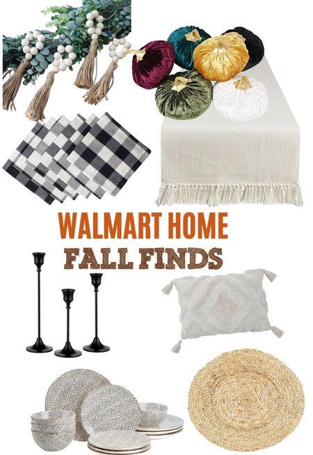 Gorgeous fall finds from Walmart! #sponsored #fall #WalmartHome  #LTKhome #LTKSeasonal #LTKunder50