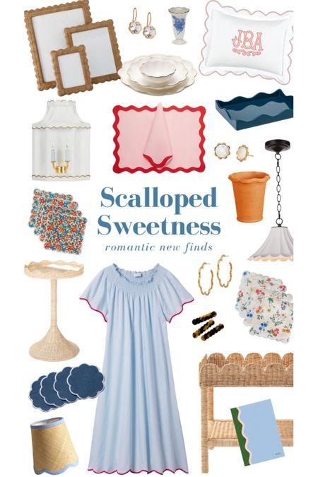 See my favorite scalloped interiors and fashion on KatieConsiders.com @liketoknow.it #liketkit http://liketk.it/3bolR