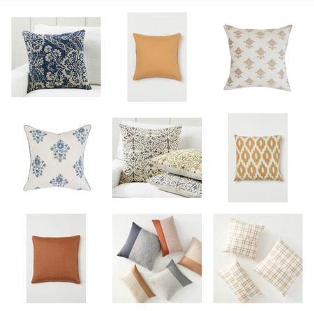 Fall pillows I love! 🧡  #LTKSeasonal #LTKhome #LTKunder50