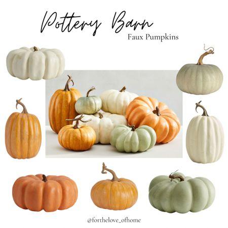 Faux Heirloom pumpkins to mix in with your real one's! The Cinderella pumpkins are my favorite! #pumpkin #heypumpkin #pumpkinspice #potterybarn #falldecor #homedecor   #LTKstyletip #LTKSeasonal #LTKhome