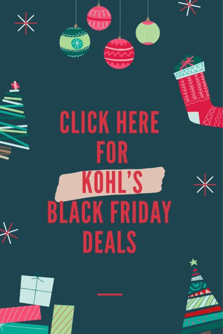 Kohl's Black Friday Deals! Follow me on the LIKEtoKNOW.it shopping app to get the product details for this look and others  http://liketk.it/31SVg #liketkit @liketoknow.it #LTKgiftspo #LTKhome #StayHomeWithLTK