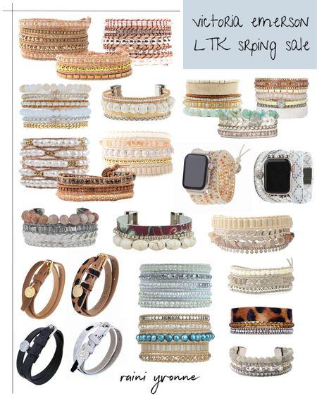 Victoria Emerson LTK Spring Sale BOGO FREE  http://liketk.it/3cqDz @liketoknow.it #liketkit   #LTKSpringSale #LTKsalealert #LTKunder100  Accessories, Victoria Emerson, Bracelets, Jewelry, Apple Watch, Watch Band, Boho, Summer Fashion, Summee Outfit, Spring Fashion, Spring Outfit, Plus Size, Sale