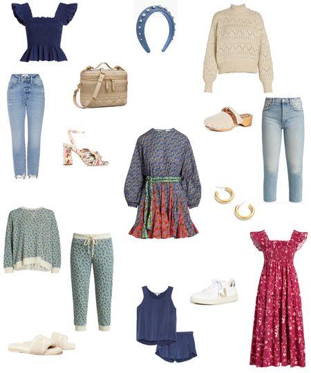 Early fall favorites 🍂🍁🧡 #ootd #fashion #fall #fallfashion #hillhouse #napdress #rhode #thegreat #nordstrom #shopbop #saks #clogs   #LTKunder50 #LTKsalealert #LTKunder100