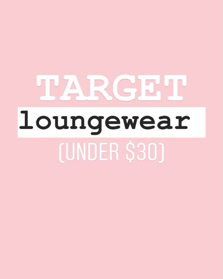 Comfy affordable loungewear under $30! Gotta love Target finds 💗 These joggers are lightweight but oh so comfortable! I ordered two colors http://liketk.it/2N2uo @liketoknow.it #liketkit #StayHomeWithLTK #LTKunder50