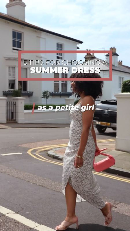 How to choose a Summer dress as a petite girl.   #LTKstyletip #LTKeurope #LTKSeasonal