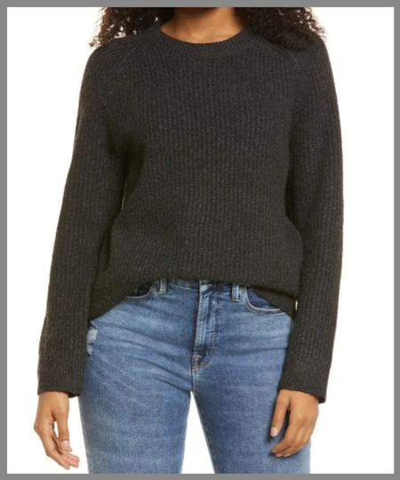 Cozy cable knit long sleeved sweater in the Nordstrom anniversary sale. long sleeves great for adding a layer of warmth to any outfit.  #LTKSeasonal #LTKsalealert #LTKunder50