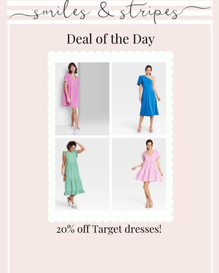20% off Target dresses for spring! http://liketk.it/398D4 @liketoknow.it #liketkit #LTKunder50 #LTKsalealert #LTKworkwear