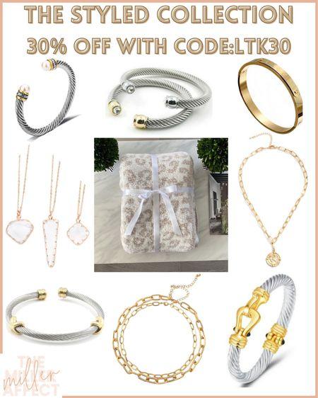30% off The Styled Collection! Use code: LTK30 http://liketk.it/3hm06 @liketoknow.it #liketkit #LTKDay #LTKsalealert #LTKunder50