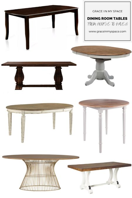 Check out these reasonably priced dining room tables from your go to stores!  #LTK #LTKFarmhouse