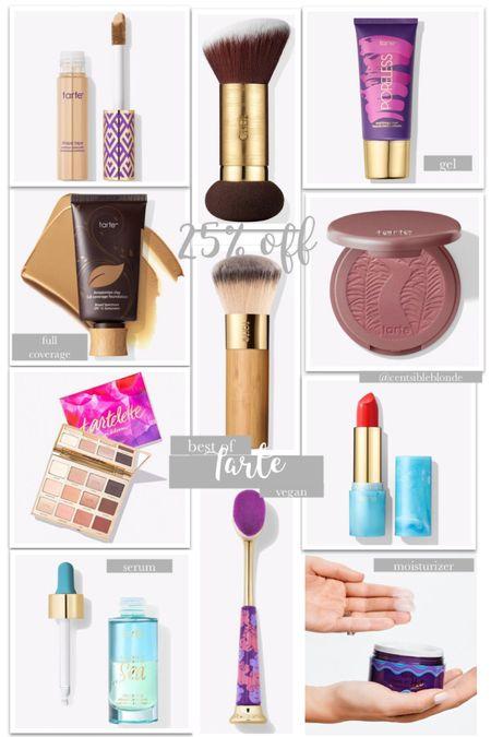 Tarte makeup must haves, tarte sale, vegan makeup, foundation, makeup.    http://liketk.it/3ht73 #liketkit @liketoknow.it #LTKunder50 #LTKbeauty #LTKsalealert