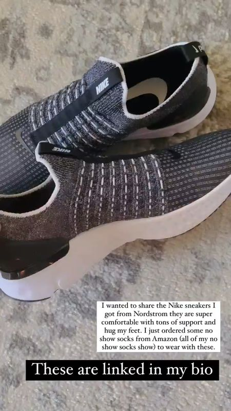 If you're on the fence about the Nike react phantom run fly knit sneakers jump off the fence and grab them!! They're so good!! #nsale Nordstrom Anniversary Sale   #LTKfit #LTKshoecrush #LTKsalealert