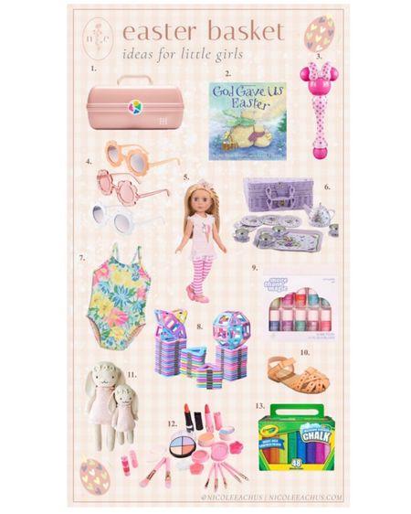 My 2021 Easter basket gift ideas for little girls 🐰🐥 #liketkit @liketoknow.it http://liketk.it/3aN3q