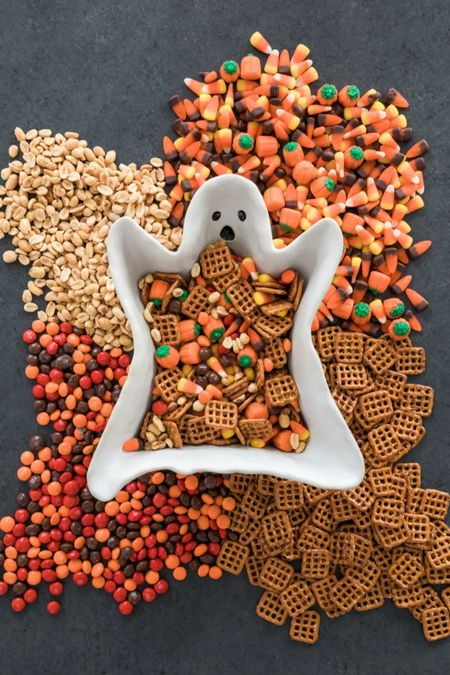 The easiest fall party snack mix in the cutest ghost bowl. Hurry these bowls sold out fast last year!   #LTKHoliday #LTKhome #LTKSeasonal