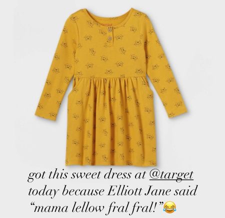 Sweetest little dress. Would be so cute with leggings and a vest and Chuck Taylor's   #LTKHoliday #LTKGiftGuide #LTKSeasonal
