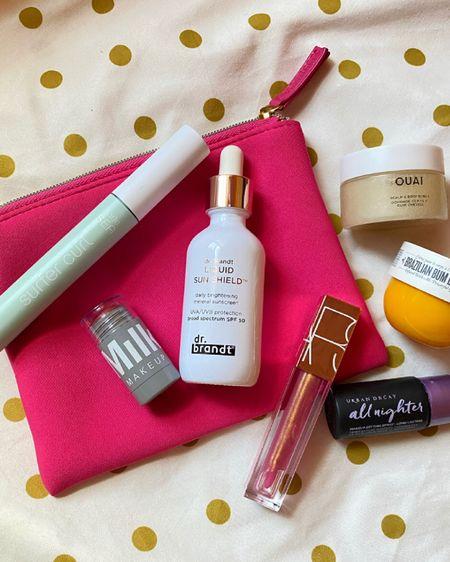 Vacation beauty bag essentials ☀️🌴✈️ 👜 http://liketk.it/3h5qP @liketoknow.it #liketkit #LTKbeauty #LTKtravel #LTKunder50