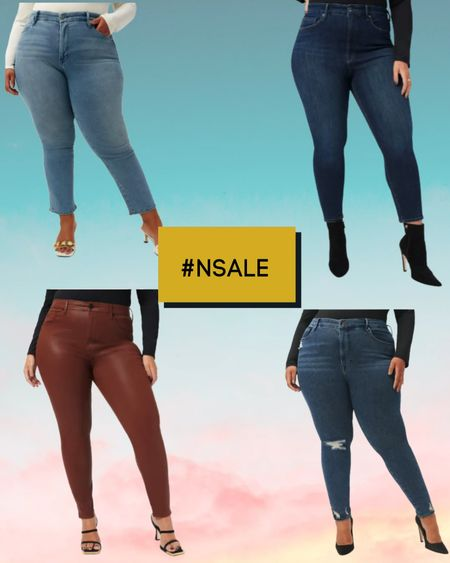 GOOD AMERICAN JEANS are a must have in the Nordstrom Anniversary Sale!   Plus size jeans /  Good waist distressed skinny jeans/  Good straight ankle straight leg jeans/  Good waist crop skinny jeans/ Good Legs coated skinny jeans /   #nsale #nordysale #goodamerican #plussizejeans #curvyjeans   #LTKsalealert #LTKcurves #LTKstyletip