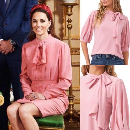 Kate inspired bow blouse #shirt #top   #LTKstyletip #LTKworkwear