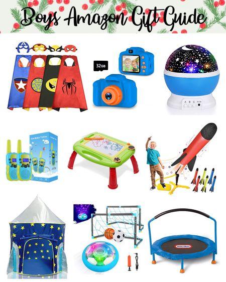 Little boys gift guide, gift guide, boys gift guide, toys, amazon finds, kids toys, Christmas gift. #liketkit #LTKgiftspo #LTKkids #LTKunder50 @liketoknow.it http://liketk.it/33msr
