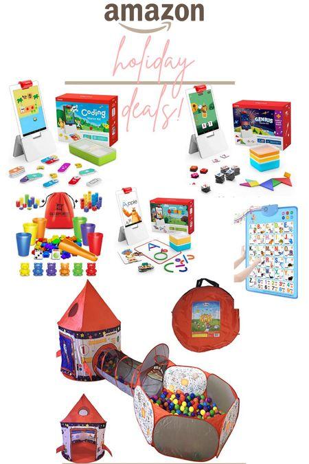 Amazon holiday gift guide and deals! Kids holiday gift guide.   #LTKkids #LTKsalealert #LTKfamily