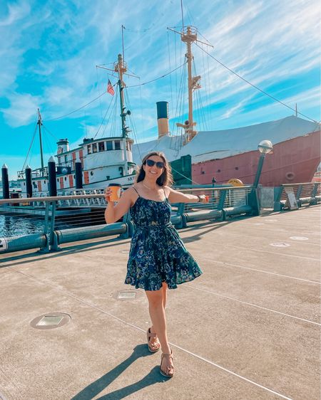 Hello from Seattle! 💙 We've been here since Wednesday, and are lucky enough to experience this historic heatwave. Our flight back to Chicago was cancelled due to the heat! 😱. I'm so excited to recently be part of the @shopreddress promotional group! I've been a fan of the brand for years. This dress is one of my favorites! Shop it via the @liketoknow.it app. http://liketk.it/3ixDZ #liketkit #LTKunder100 #LTKstyletip #shopreddress #rdbabe #seattle