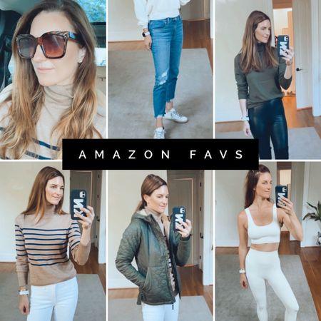 Amazon purchases, amazon finds, jackets, activewear, fall outfits, denim, Levi   #LTKfit #LTKunder100 #LTKCyberweek