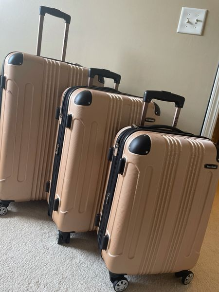 The best luggage, set of 3, on wheels, durable and not too expensive!  #LTKtravel