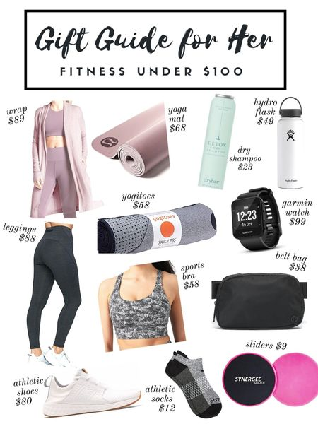 Gift guide, gift guide for her, mom, stocking stuffers, under $100, fitness gifts, gifts Athleisure http://liketk.it/33yV8 #liketkit @liketoknow.it   #LTKgiftspo   #LTKunder100 #LTKGiftGuide #LTKfit