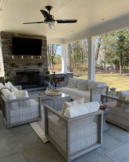 Our exact outdoor couches and chairs! Love how affordable and durable these are! http://liketk.it/3aWug #liketkit @liketoknow.it #LTKfamily #LTKhome #LTKSpringSale @liketoknow.it.home @liketoknow.it.family Download the LIKEtoKNOW.it shopping app to shop this pic via screenshot